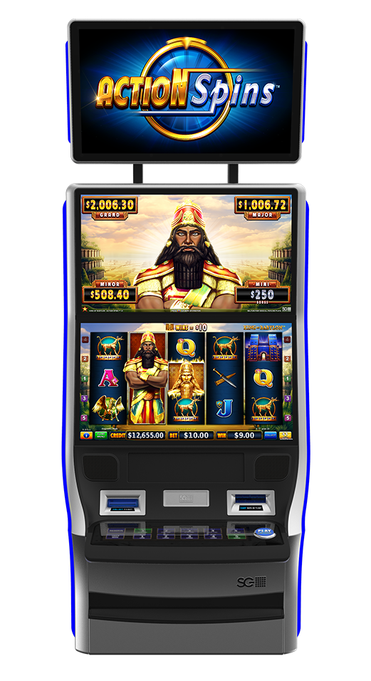 Action Spins - King of Babylon Cabinet