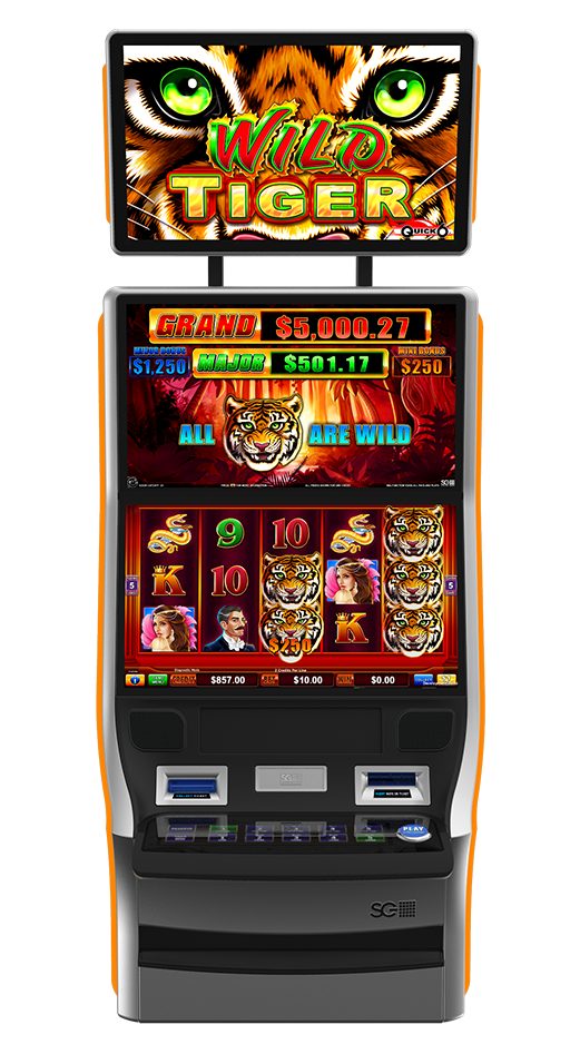 Quick Six - Wild Tiger Cabinet