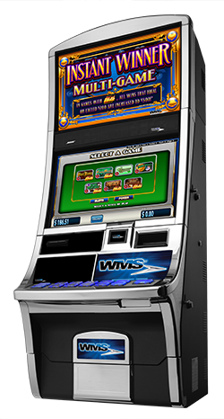 IL VGT WMS Game Set 2 - Instant Winner Multi-Game Cabinet