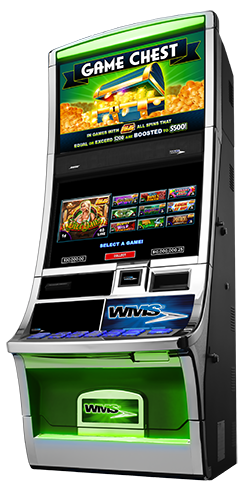 IL VGT WMS Game Set 3 - Game Chest Multi-Game Cabinet