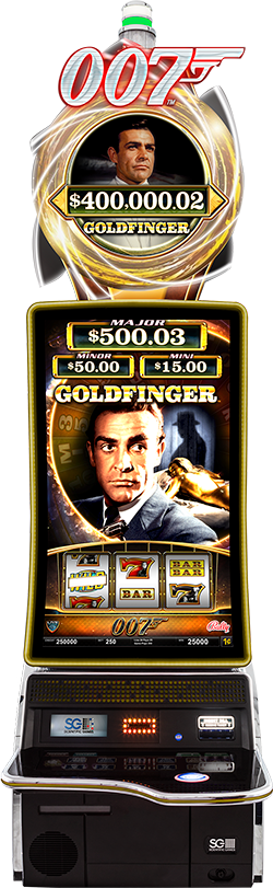 JAMES BOND - GOLDFINGER Cabinet