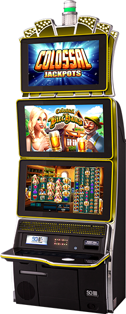 Colossal Jackpots -  Colossal Bier Haus Cabinet