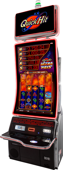 Quick Hit Ultra Pays Sun Dragon Cabinet