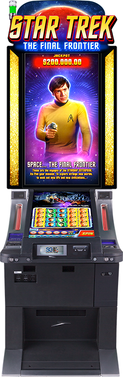 Star Trek The Final Frontier Cabinet