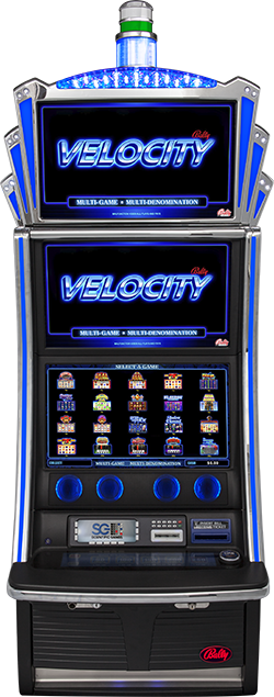 IL VGT Bally Game Suite 5 V22/22 Velocity Cabinet