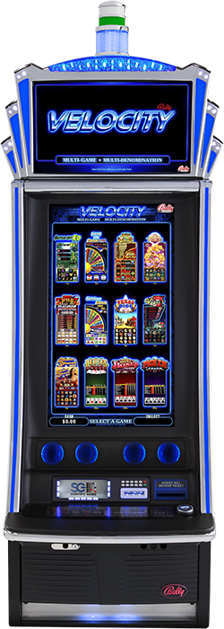 IL VGT Bally Game Suite 5 V32 Velocity Cabinet