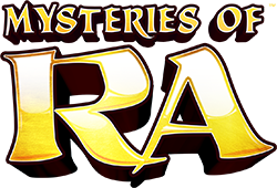 Super Colossal Reels - Mysteries of RA Logo