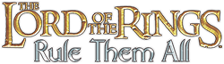 Lord of the Rings Rule Them All Logo