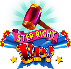 Penny Pier - Step Right Up Logo