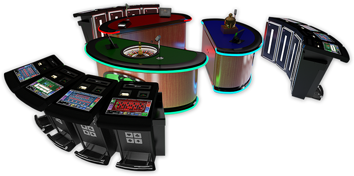 Stadium Three Card Poker Hardware Image