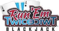 Run Em' Twice Blackjacklogo
