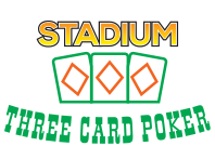 Stadium Three Card Poker Logo