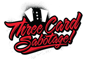 Three Card Sabotage Logo