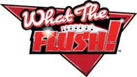 What the Flush! Poker Logo